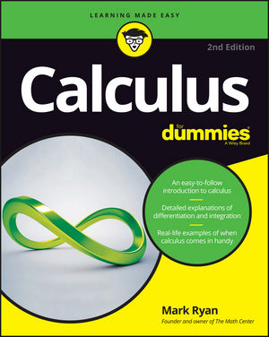 Calculus For Dummies, 2nd Edition (1119297435) cover image