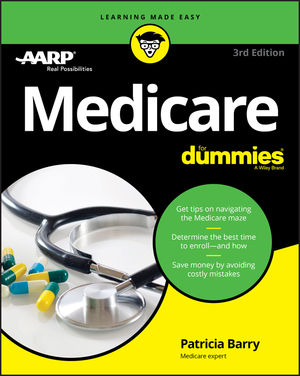 Medicare For Dummies, 3rd Edition (1119348935) cover image