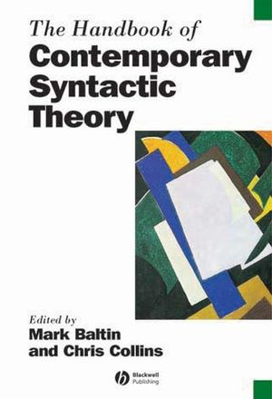 The Handbook of Contemporary Syntactic Theory (1405102535) cover image