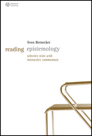 Reading Epistemology: Selected Texts with Interactive Commentary (1405127635) cover image