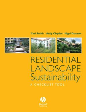 Residential Landscape Sustainability: A Checklist Tool (1405158735) cover image