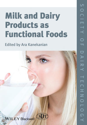 Milk and Dairy Products as Functional Foods (1444336835) cover image