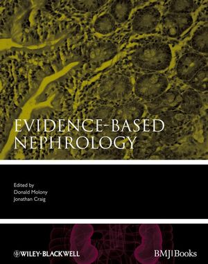 Evidence-Based Nephrology (1444358235) cover image