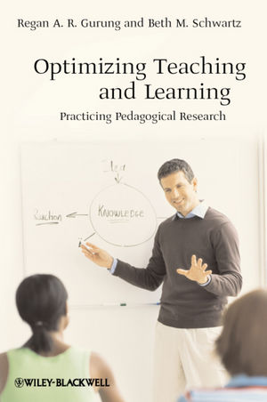 Optimizing Teaching and Learning: Practicing Pedagogical Research (1444360035) cover image