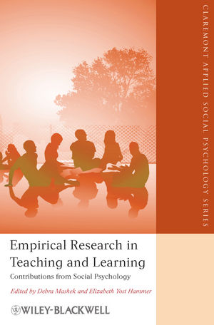 Empirical Research in Teaching and Learning: Contributions from Social Psychology (1444395335) cover image