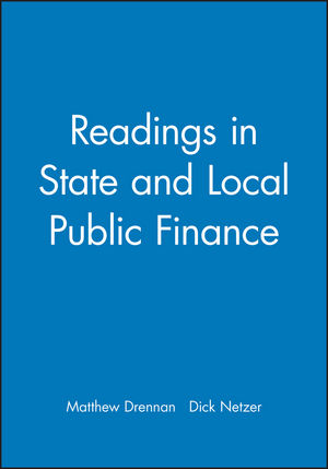 Readings in State and Local Public Finance (1557867135) cover image