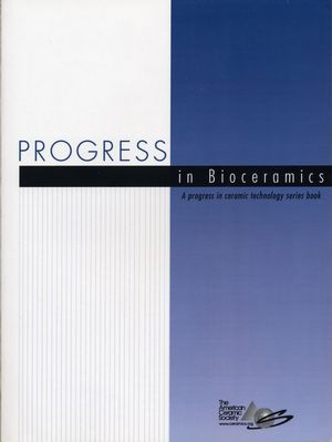 Progress in Bioceramics (1574981935) cover image