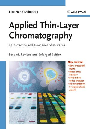 Applied Thin-Layer Chromatography, 2nd Edition (3527315535) cover image