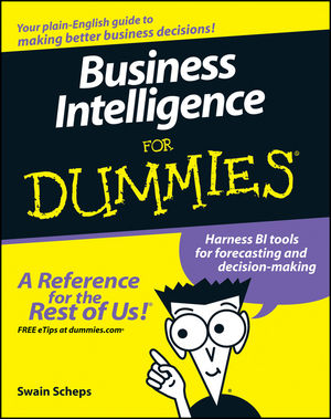 Business Intelligence For Dummies (0470127236) cover image