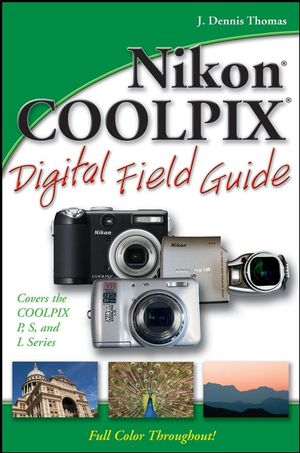 Nikon COOLPIX Digital Field Guide (0470168536) cover image