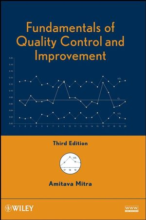 Fundamentals of Quality Control and Improvement, 3rd Edition (0470226536) cover image