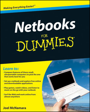 Netbooks For Dummies (0470521236) cover image