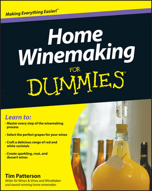 Home Winemaking For Dummies (0470681136) cover image