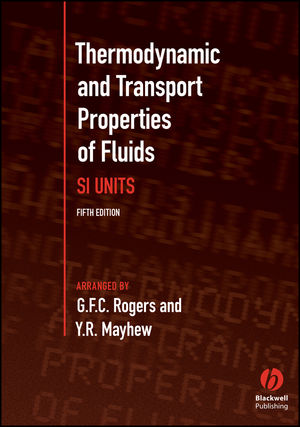 Thermodynamic and Transport Properties of Fluids, 5th Edition (0631197036) cover image