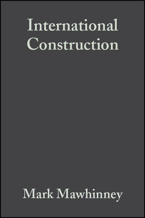 International Construction (0632058536) cover image