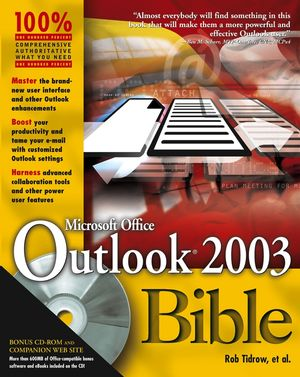 Outlook 2003 Bible (0764539736) cover image