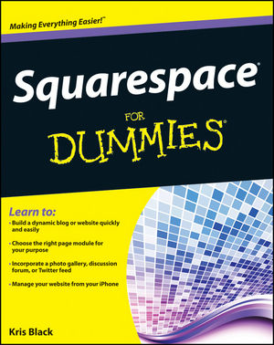 Squarespace For Dummies