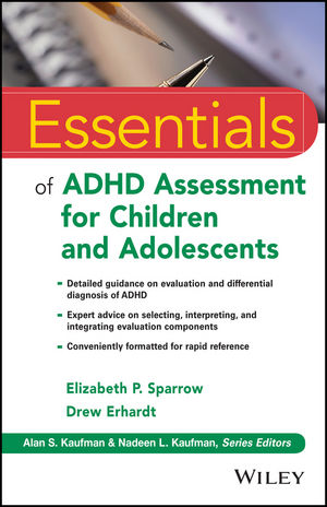 Essentials of ADHD Assessment for Children and Adolescents (1118416236) cover image