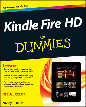 Kindle Fire HD For Dummies (1118422236) cover image