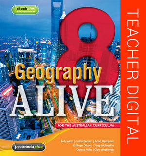 Geography Alive 8 For The Australian Curriculum eGuidePLUS (Online Purchase)