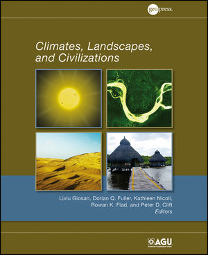 Climates, Landscapes, and Civilizations (1118704436) cover image