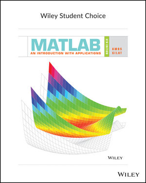MATLAB: An Introduction with Applications, 6th Edition