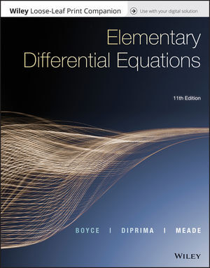Elementary Differential Equations, 11th Edition