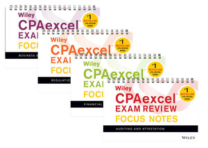 Wiley CPAexcel Exam Review 2018 Focus Notes: Complete Set