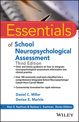 Essentials of School Neuropsychological Assessment, 3rd Edition