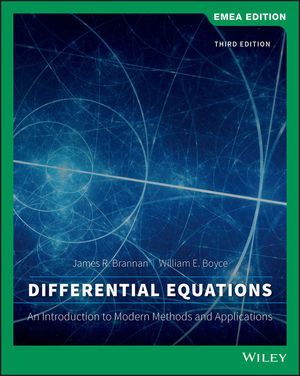 Differential Equations: An Introduction to Modern Methods and Applications, 3rd Edition, EMEA Edition