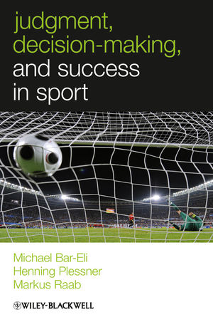 Judgment, Decision-making and Success in Sport (1119976936) cover image