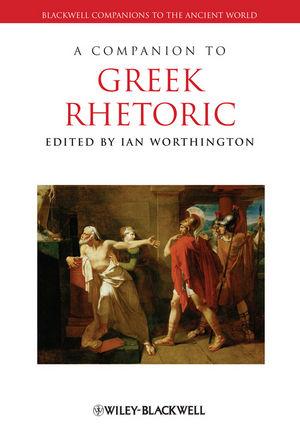 A Companion to Greek Rhetoric (1405171936) cover image