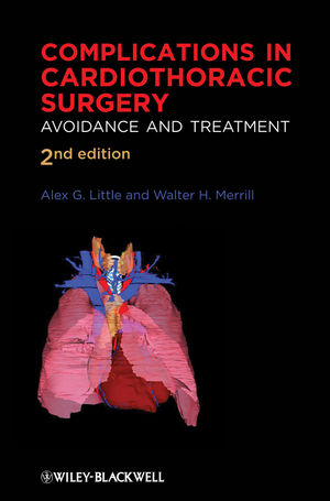 Complications in Cardiothoracic Surgery: Avoidance and Treatment, 2nd Edition (1405181036) cover image