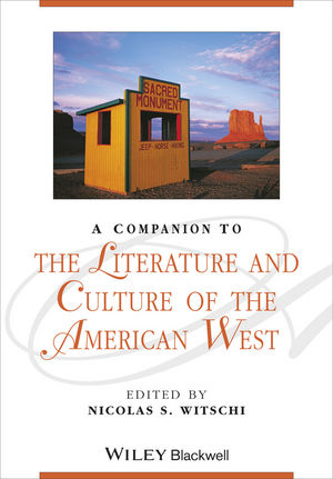 A Companion to the Literature and Culture of the American West (1405187336) cover image