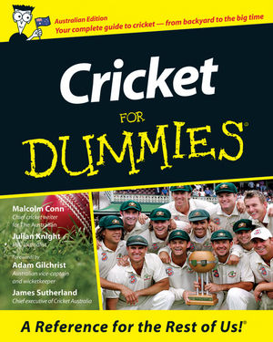 Cricket For Dummies, Australian Edition (1740311736) cover image