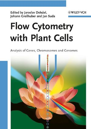 Flow Cytometry with Plant Cells: Analysis of Genes, Chromosomes and Genomes (3527610936) cover image