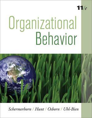 Organizational Behavior, 11th Edition (EHEP000236) cover image
