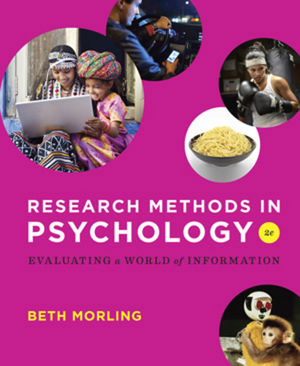 Research Methods in Psychology Evaluating a World of Information, 2nd Edition