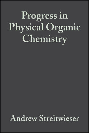 Progress in Physical Organic Chemistry, Volume 4 (0470172037) cover image