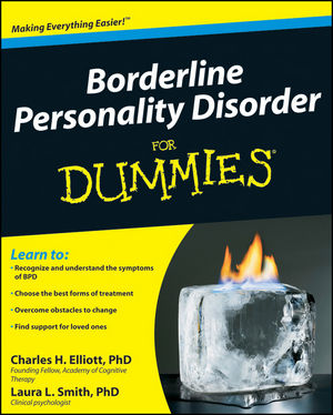 Borderline Personality Disorder For Dummies (0470466537) cover image
