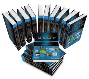 International Encyclopedia of Geography: People, the Earth, Environment and Technology, 15 Volume Set (0470659637) cover image