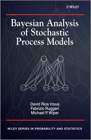 Bayesian Analysis of Stochastic Process Models (0470744537) cover image