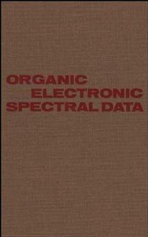 Organic Electronic Spectral Data, Volume 31, 1989
