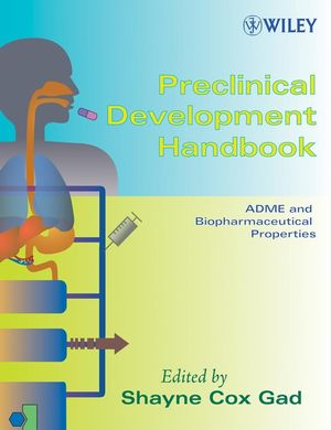 Preclinical Development Handbook, 2-Volume Set  (0471213837) cover image