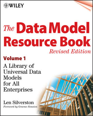 The Data Model Resource Book, Volume 1: A Library of Universal Data Models for All Enterprises, Revised Edition (0471380237) cover image