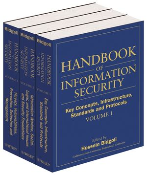 Handbook of Information Security, 3-Volume Set (0471648337) cover image