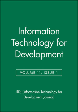 Information Technology for Development, Volume 11, Issue 1