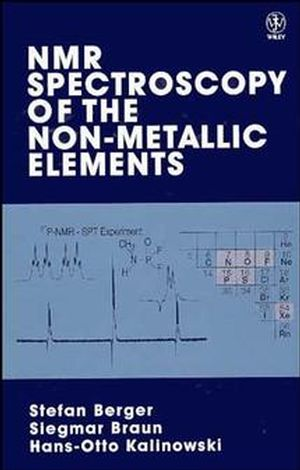 NMR Spectroscopy of the Non-Metallic Elements (0471967637) cover image