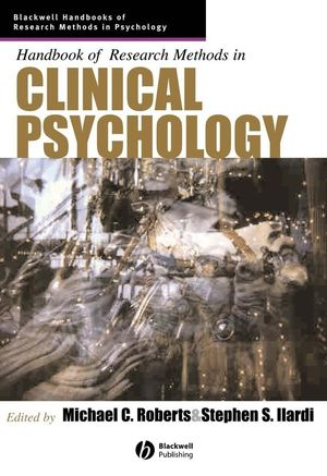 Handbook of Research Methods in Clinical Psychology
