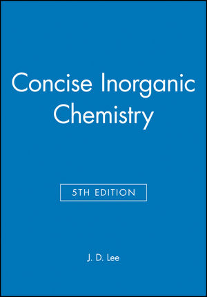 Jd Lee Inorganic Chemistry 5th Edition Pdf
